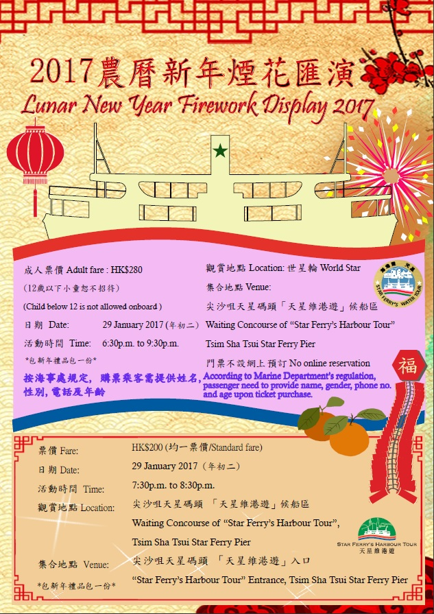 Lunar New Year Firework Display 2017