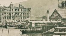 Star Ferry Pier, Central, 1900s